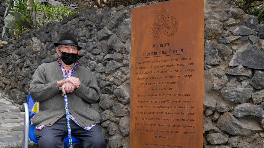 Agustín Hernández 'Agustinito', el último guardián de la Caldera de Bandama