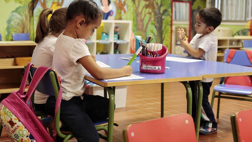 La solicitud de plaza en colegios isleños se abre el 8 de marzo