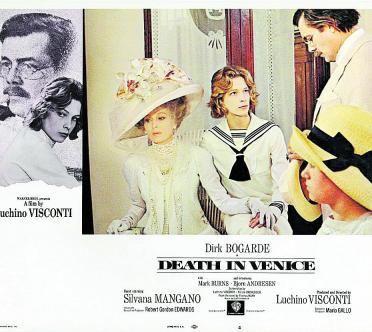 Cartell de Mort a Venècia.