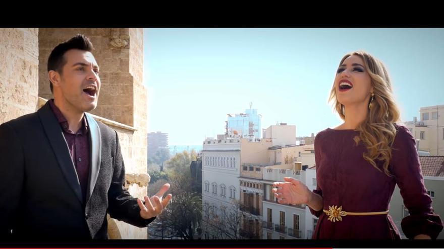 Así suena el Himno de la Comunitat Valenciana a dos voces