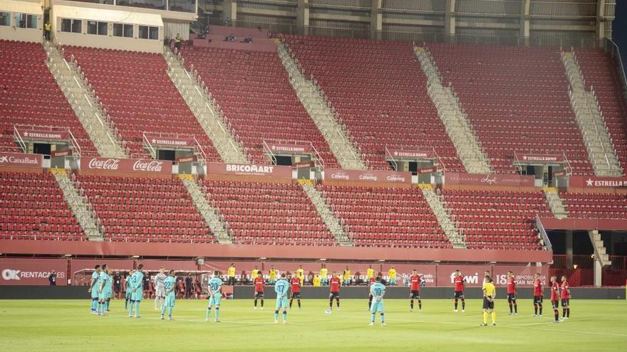 El Mallorca se rinde ante un Barça a medio gas