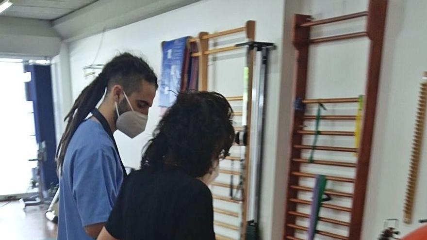 La asociación de esclerosis de Ourense incorpora una nueva rehabilitación