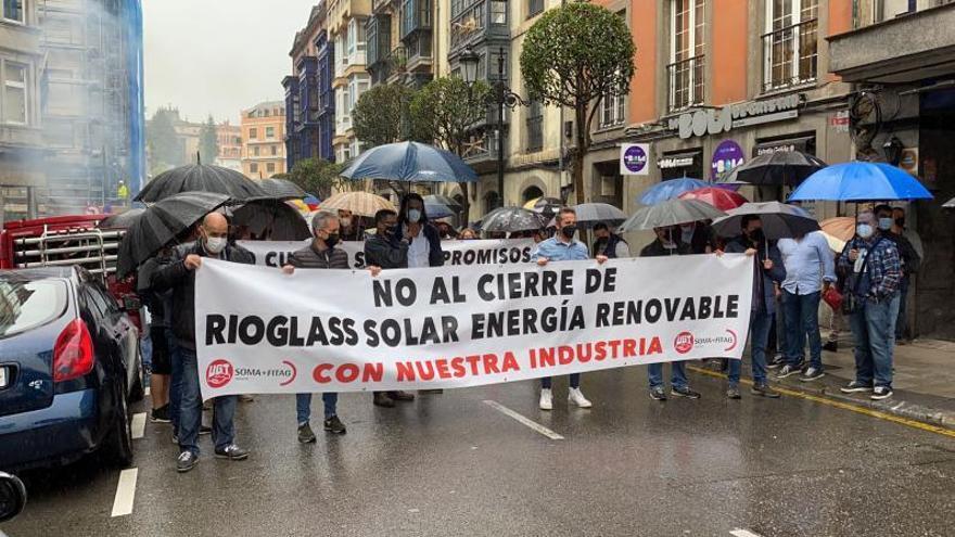 La plantilla de Rioglass Solar va a la huelga el día 28 para protestar por los despidos