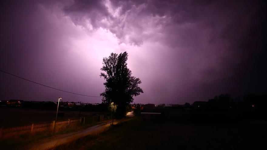 Castilla y León, en alerta amarilla por lluvias y tormentas