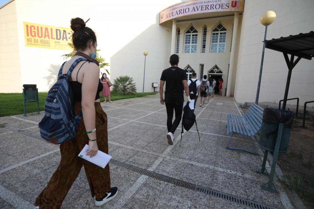 Comienza la selectividad en Córdoba