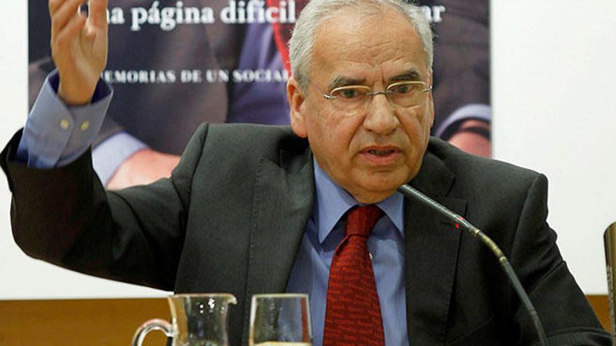 Alfonso Guerra advierte del riesgo del independentismo en Baleares