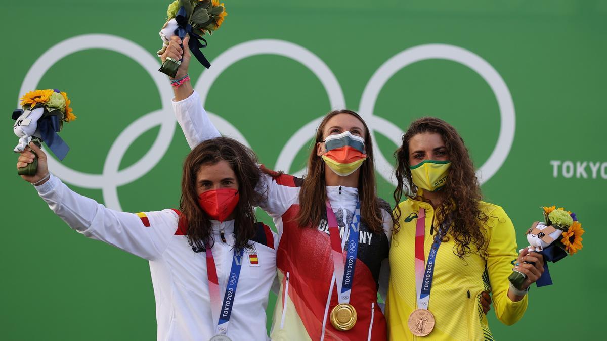 Maialen Chourraut completa su palmarés olímpico con una plata.