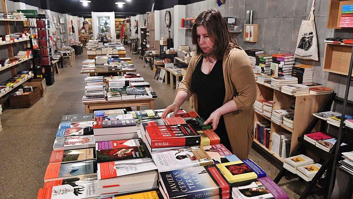 Librería Moito Conto, que agotó los Bonos Presco.