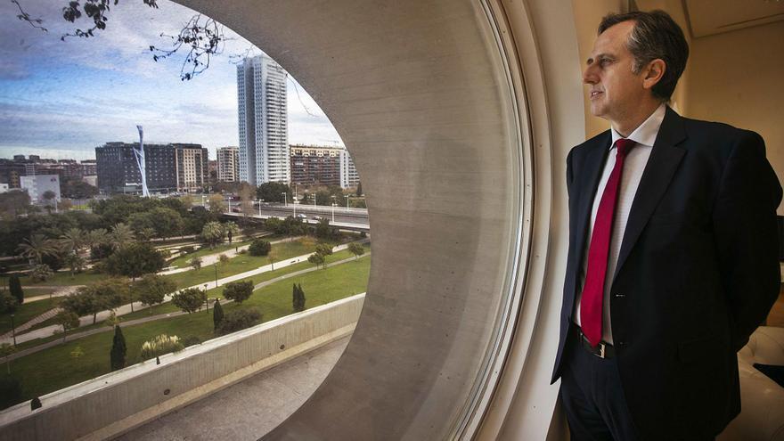 """Pablo Font de Mora: """"No tiene sentido que la Caixa o Bankia metan dinero en el Liceu y en el Real pero no en Les Arts"""""""