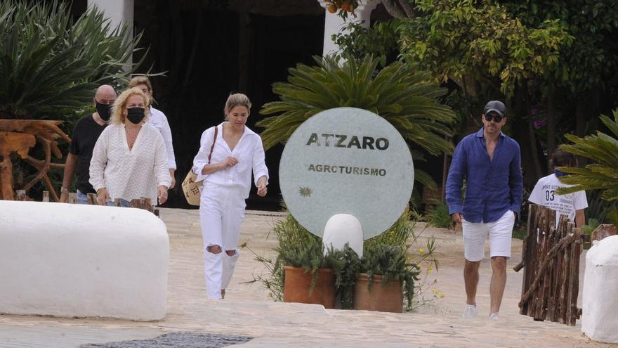 El 'Cholo' Simeone, en Ibiza tras ganar la Liga