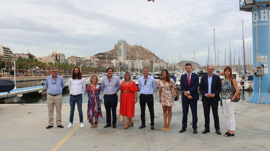 El Club de Regatas acogerá la primera edición de la Travesía a Remo Alicante-Tabarca-Alicante este sábado