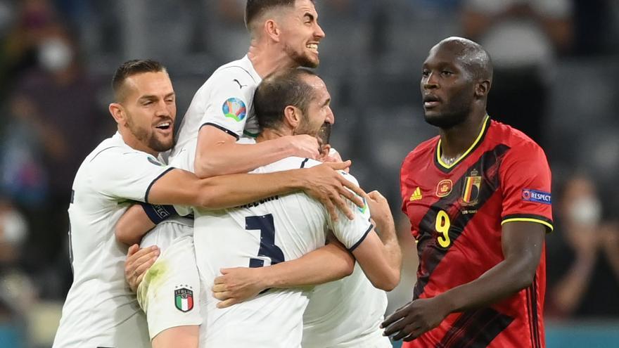 Italia se impone a Bélgica y será el rival de España en semifiales