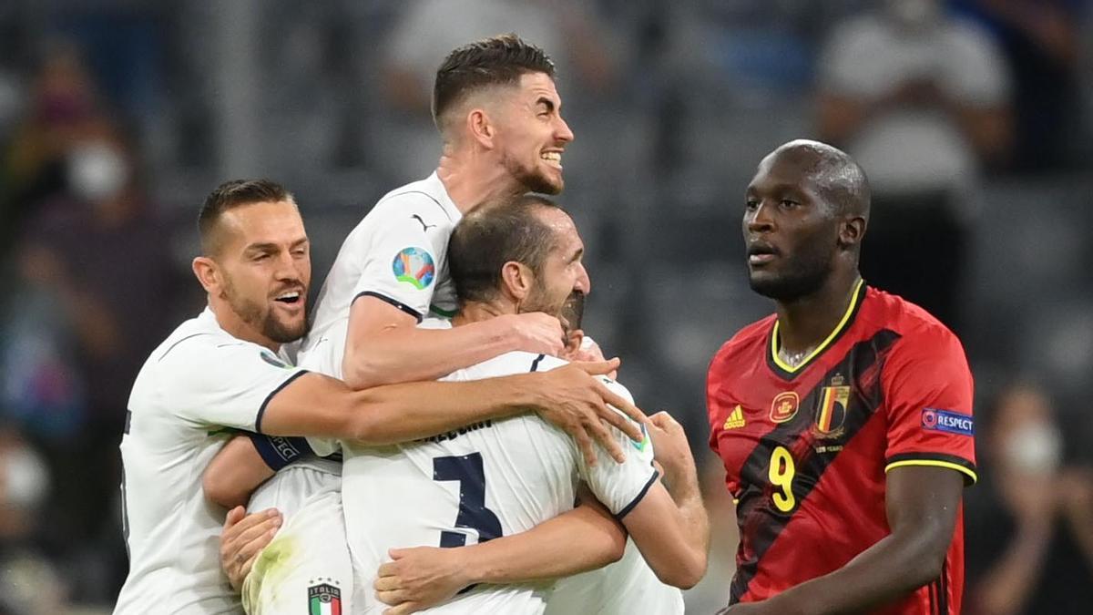 Italia elimina a Bélgica y se medirá a España en semifinales.