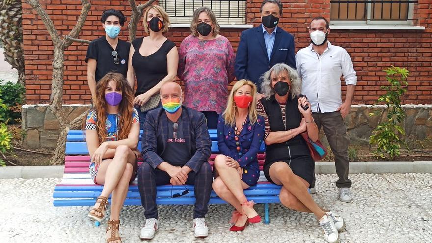 Torremolinos inaugura una plaza dedicada al colectivo trans