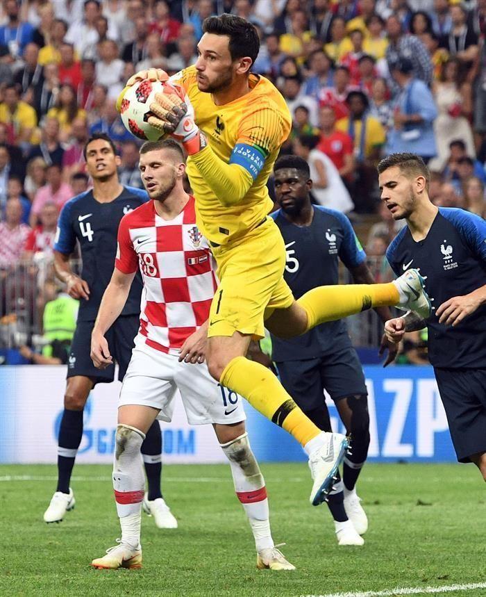 Mejores imágenes de la final del Mundial de Rusia