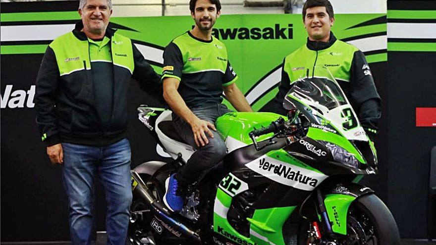 Isaac Viñales se sube a la moto del Orelac Racing