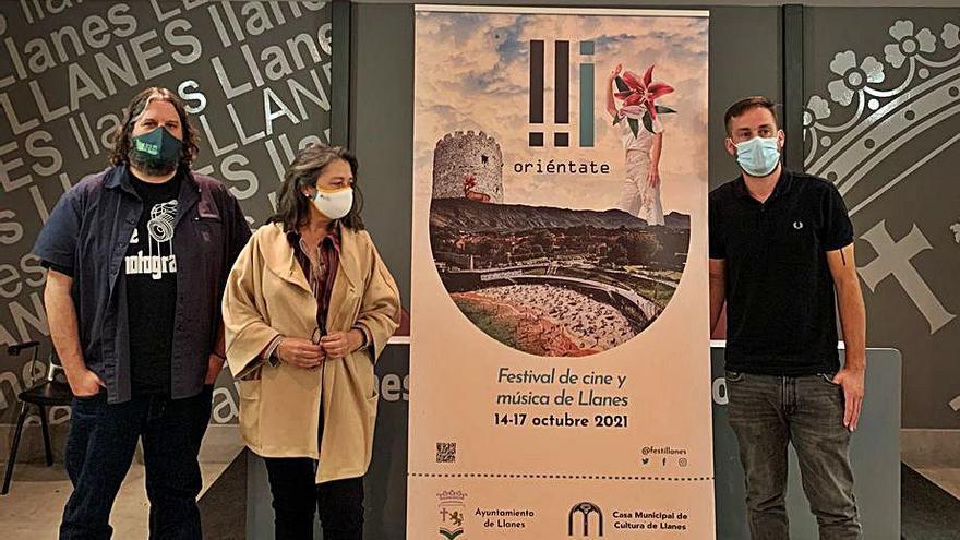 """Llanes presenta el festival """"Oriéntate"""", que promocionará el cine asturiano"""