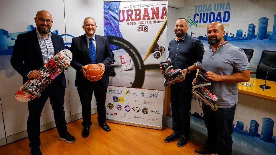 El Festival Gran Canaria Urbana llega a la capital