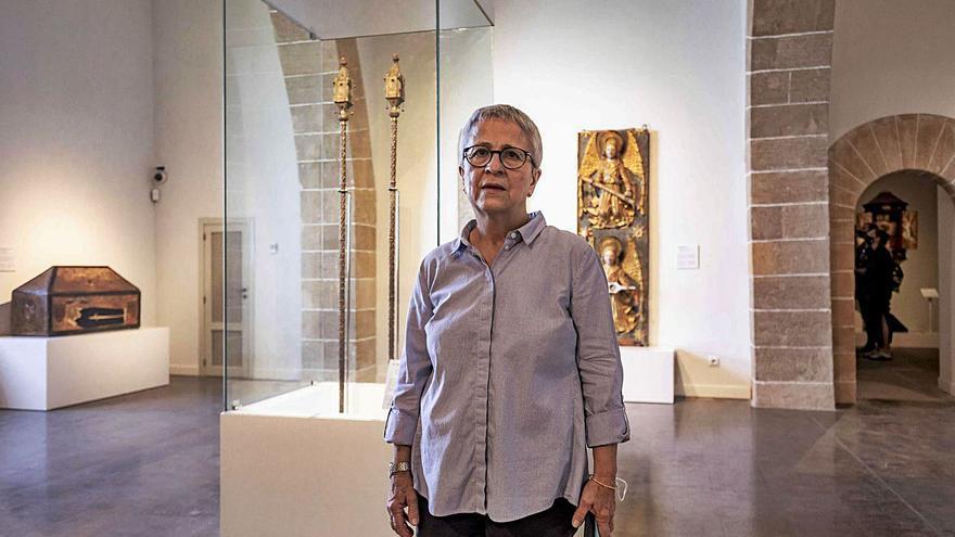 Mercè Gambús: «La Catedral y la reforma de Gaudí fueron protagonistas en el origen del Museu d'Art Sacre»