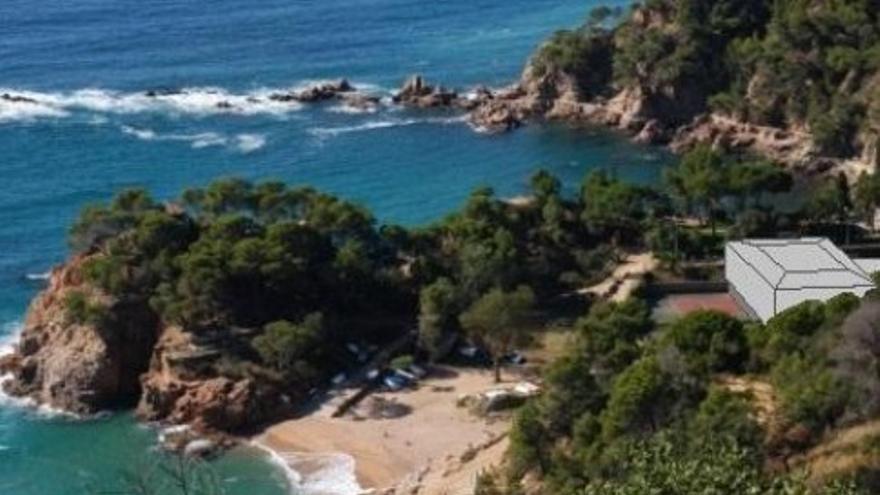 SOS Costa Brava presenta al·legacions al POUM de Santa Cristina, que preveu un hotel a primera línia de Cala Canyet