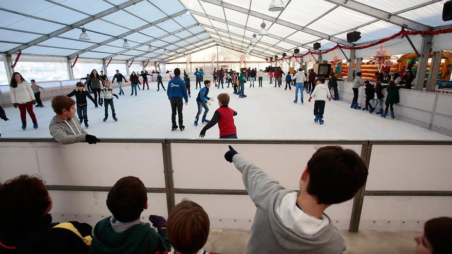 La Navidad 2020 de Vigo sí patinará en pista de hielo