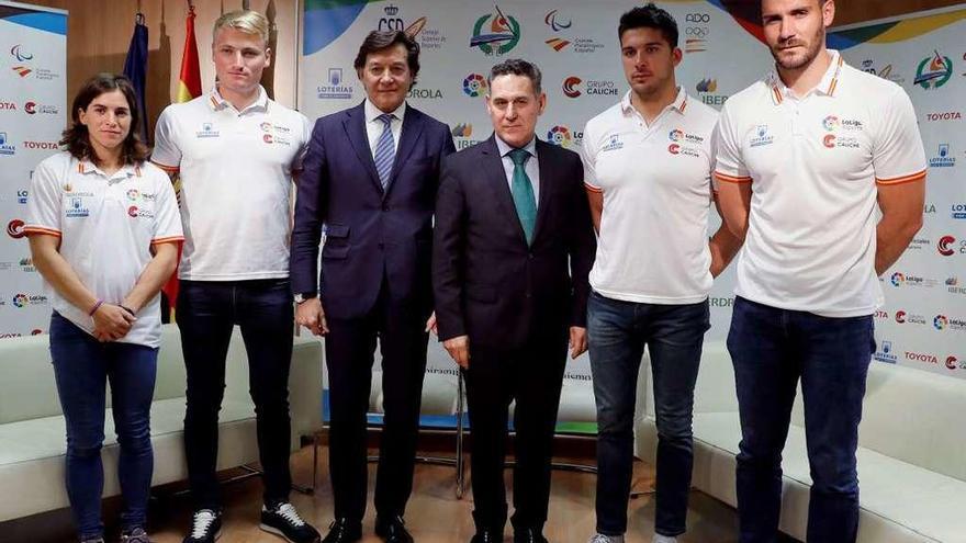 El COE homenajea a los olímpicos españoles