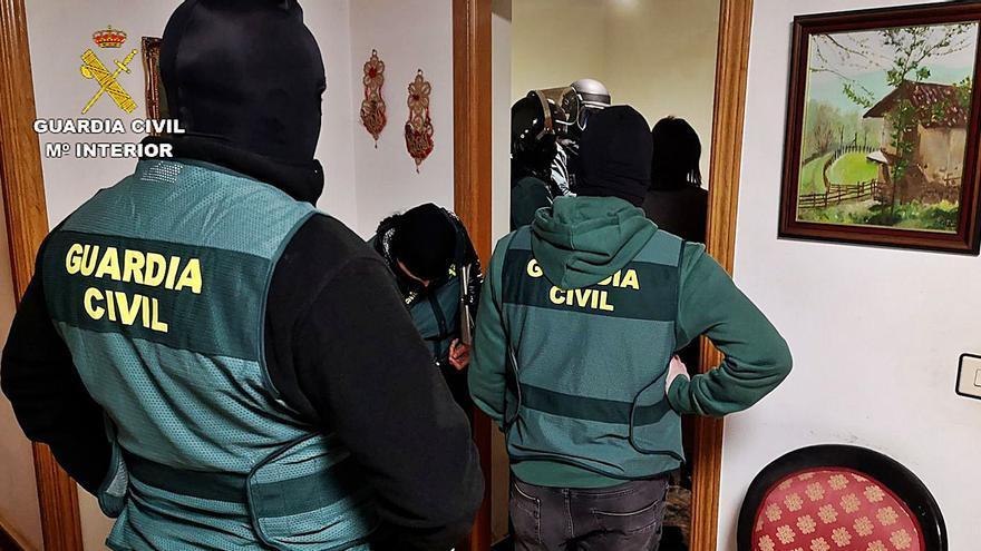 A prisión cuatro integrantes de una red zamorana de tráfico de drogas sintéticas