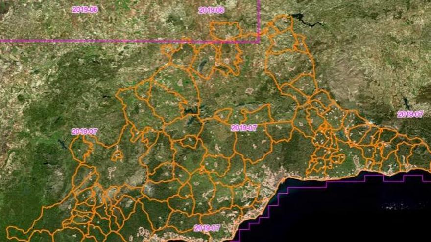 La Diputación estrena el Geoportal provincial, la mayor base de datos de Málaga