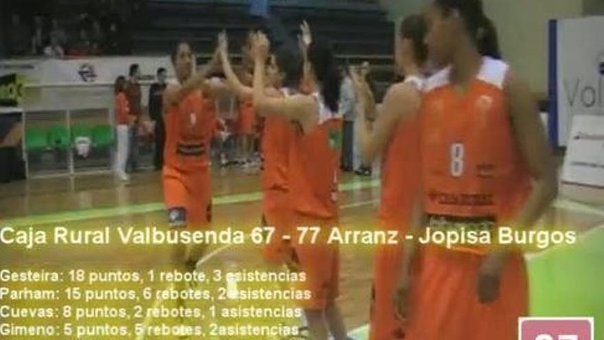 Caja Rural Valbusenda (67) Arranz Jopisa (77)