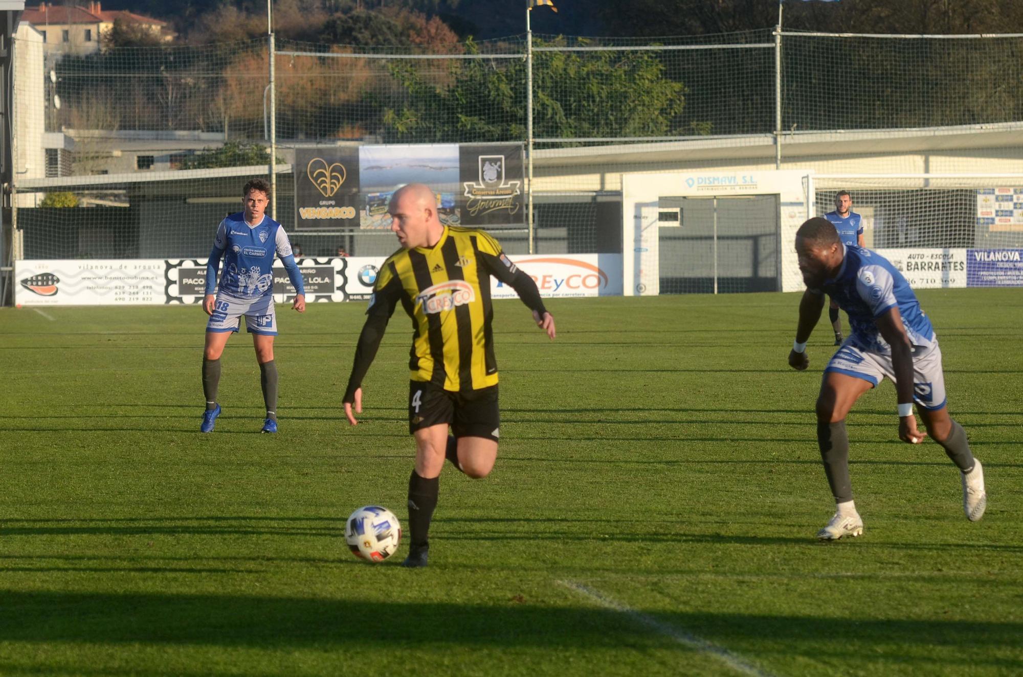 El Ourense CF se lleva los tres puntos de A Senra