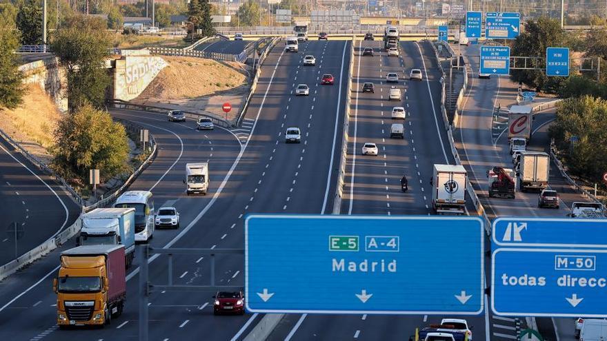 Movimientos en Madrid en el puente más atípico