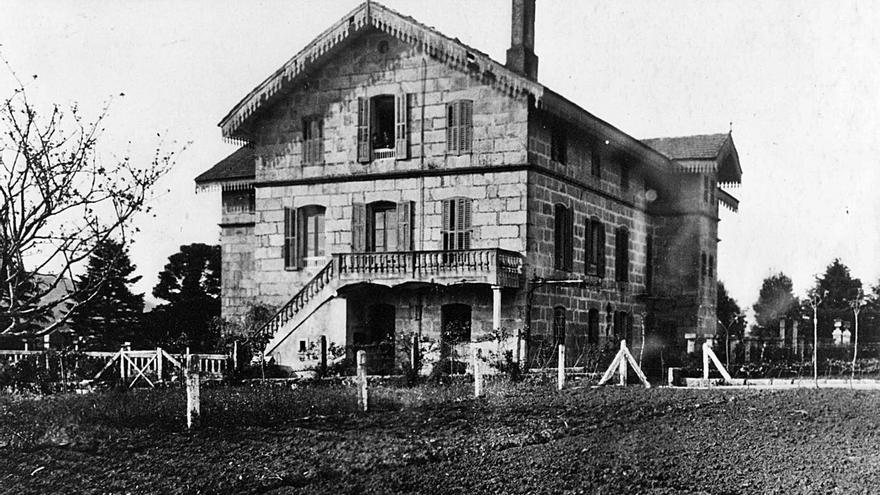 Cuando el Colegio de Ciegos se estableció en Campolongo