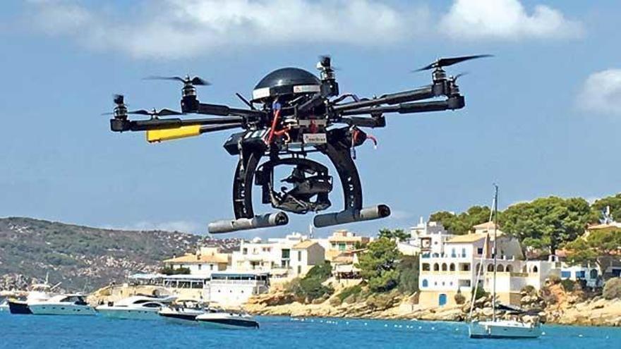 Drohnen sollen Schwarzbauten auf Mallorca entdecken