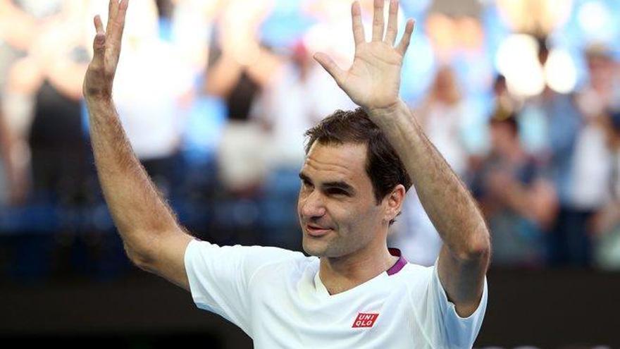 Federer salva siete puntos de partido y alcanza las semifinales