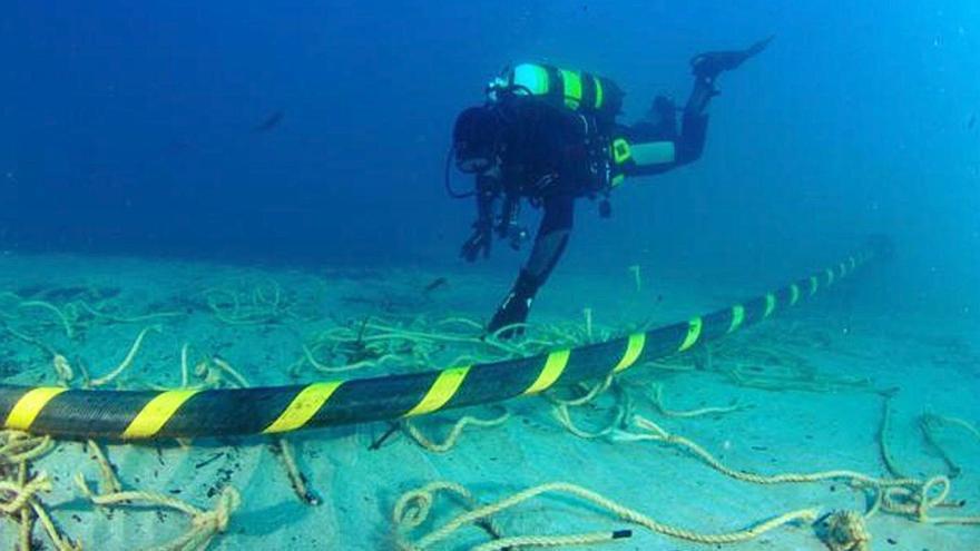 Balears y Comunitat Valenciana instalarán un cable submarino de fibra óptica