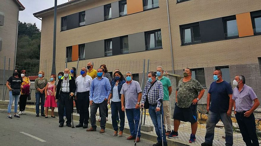 Enfado vecinal: la falta de instalación de gas vuelve a retrasar el realojo de Pumarabule