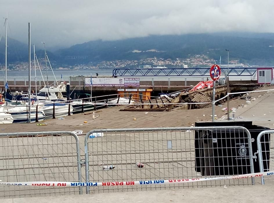 Accidente O Marisquiño de Vigo