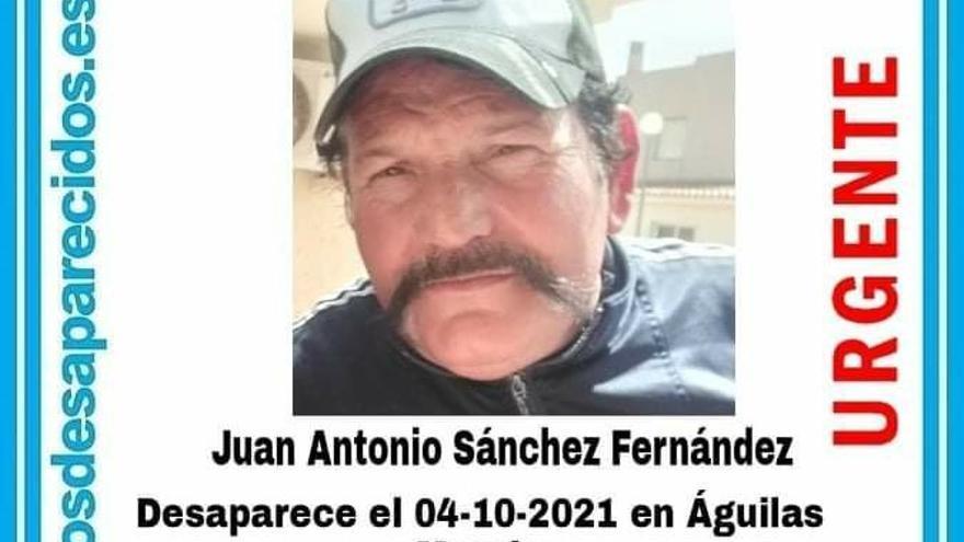 Buscan a un hombre en Águilas desaparecido 12 días