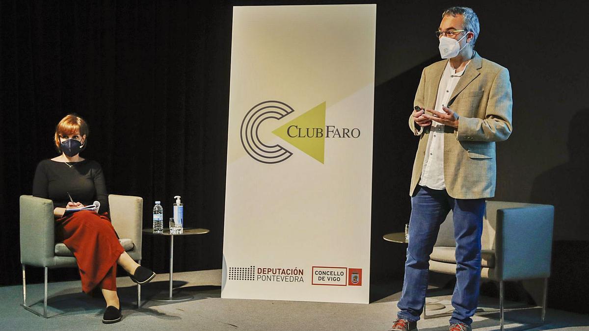 Manuel Vicente foi presentado por Leonor Parcero. |    // RICARDO GROBAS