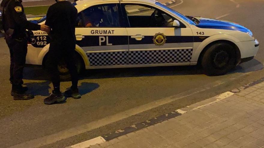 Detenidos en Elche con viagra y drogas camino de una fiesta en Madrid