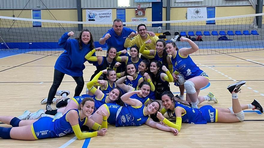El Adecor conquista su octava liga provincial juvenil consecutiva