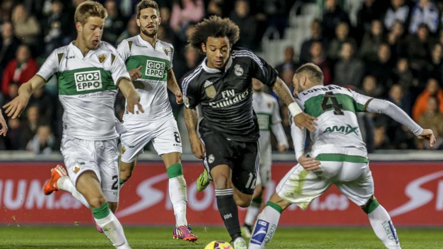 Elche- Real Madrid, el 30 de diciembre a las 21.30 horas