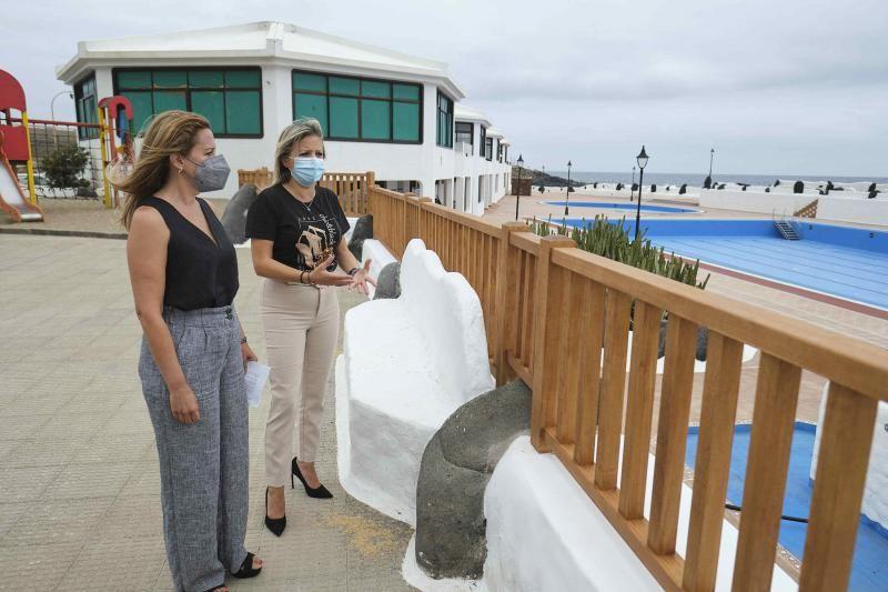 Rueda de prensa de CC sobre la piscina de Los Silos
