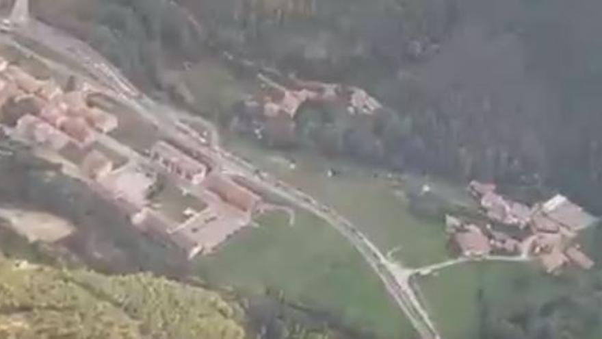 Retencions de fins a 17 quilòmetres a la C-16 entre Guardiola de Berguedà i Berga