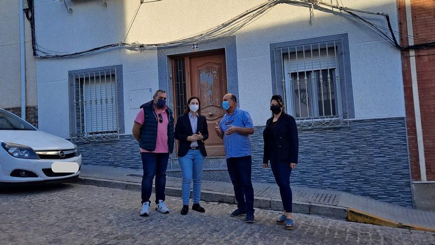 Villanueva del Rey recibe 7.500 euros de la Junta para rehabilitar viviendas