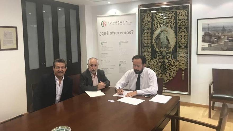 Coinbroker firma un convenio de colaboración con el colegio de Abogados de Lorca