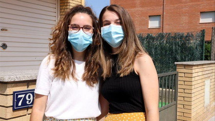 Dues germanes de Santa Coloma de Farners, la nota més alta de la PAU a Girona