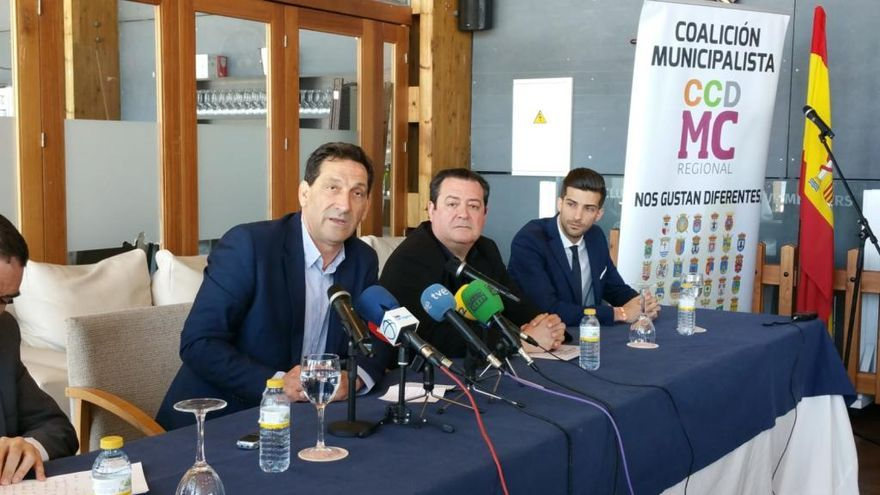 Antonio García, candidato autonómico de la coalición municipalista MC-CCD