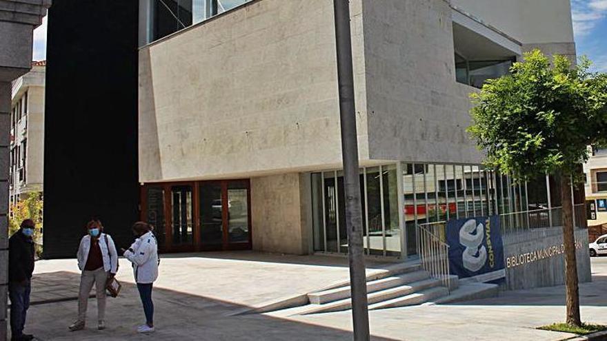 La biblioteca de Nigrán, terminada