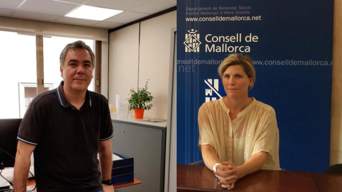 Carlos Villafáfila y Sofía Alonso.
